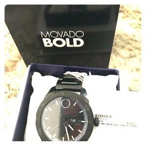 Men's Movado Bold watch BNWT